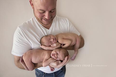 Pensacola Newborn Photographer - Twins - Lindsey Friar Photography