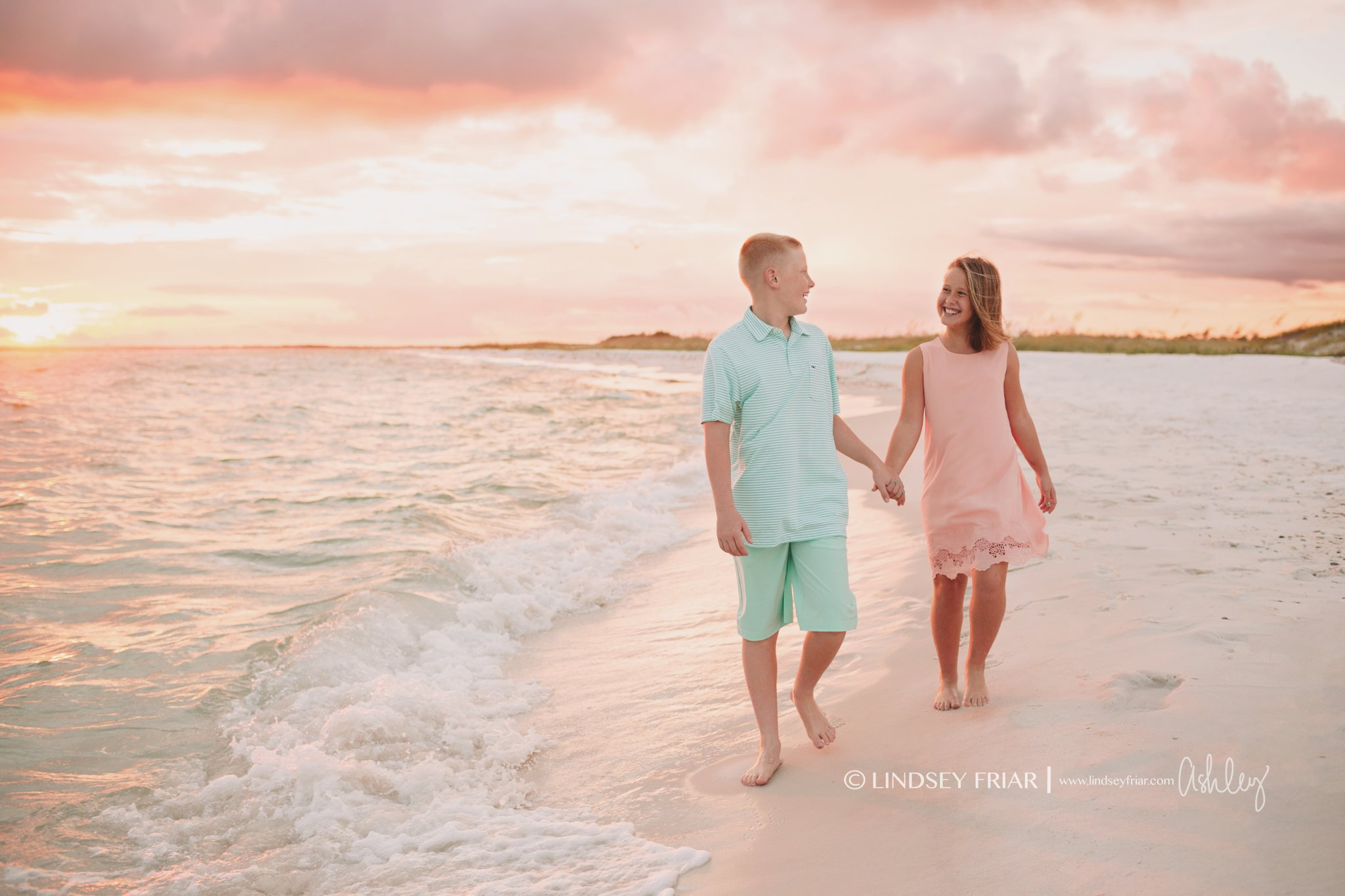 Alberson Pensacola Beach Family Mini Session By Ashley