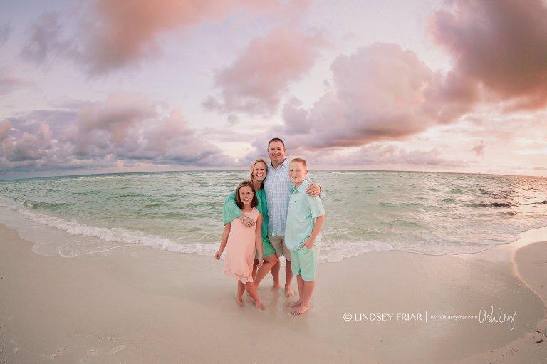 Pensacola Beach Family Mini Session