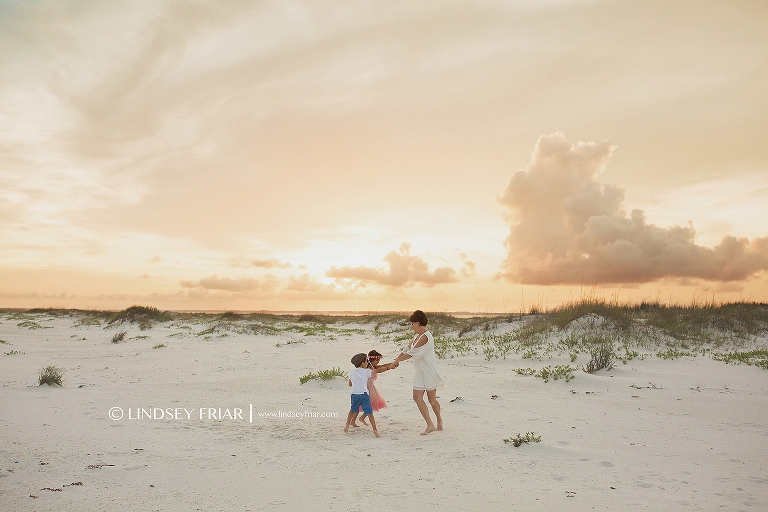 Pensacola Beach Florida Family Photographer
